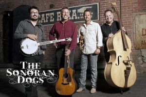 Formed in 2011, The Sonoran Dogs have exploded upon the bluegrass scene and is made up of seasoned veterans. They play a collection of traditional bluegrass standards, new-grass, Americana, folk, Celtic, and original compositions.